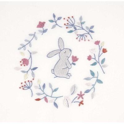 Kit de broderie traditionnelle lapin rêveur - DMC