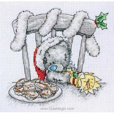 Christmas cracker broderie en point croix - Anchor