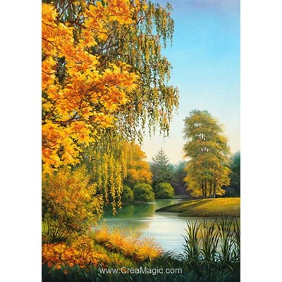 Kit broderie diamant Diamond Painting autumn