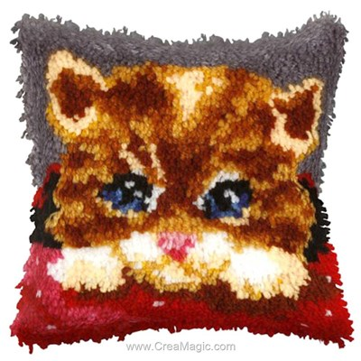 Kit coussin point noue Orchidea chaton coquin
