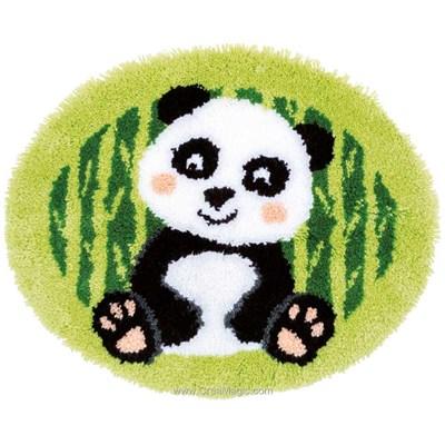 Kit tapis point noue petit panda de Vervaco