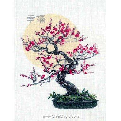 Broderie RIOLIS bonsai sakura