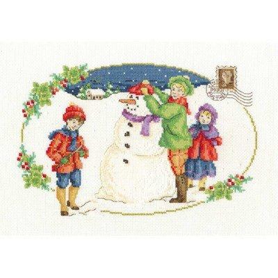 Kit jeu avec bonhomme de neige - DMC