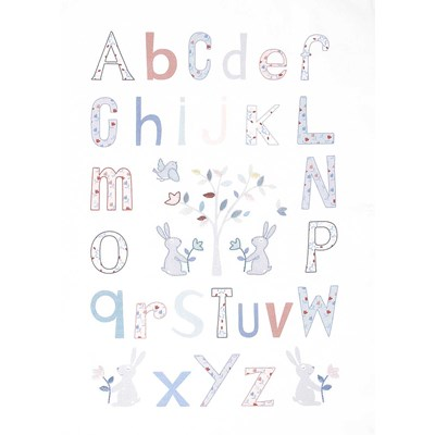 Kit de broderie traditionnelle alphabet folk - DMC