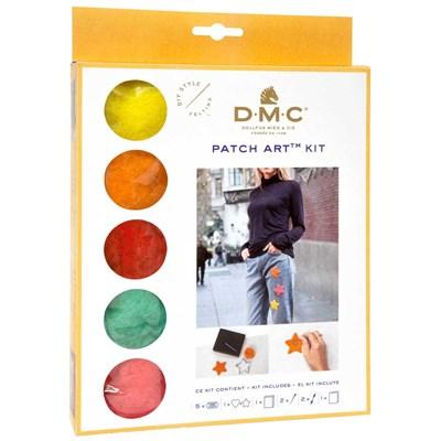 Kit patch art coeur et étoile - DMC