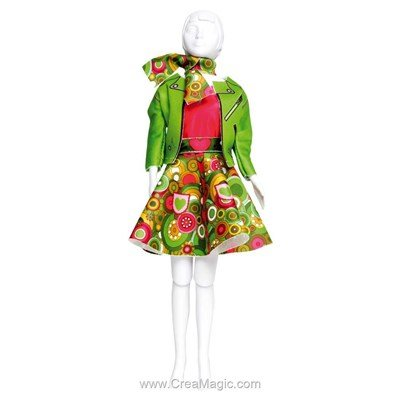 Set couture lucy funky DRESS YOUR DOLL pour barbie