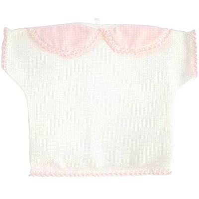 T-shirt naissance deco - rose - DMC