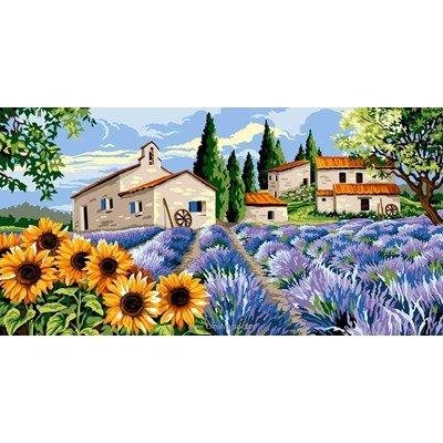 Hameau provençal canevas - Margot