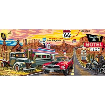 Route 66 - usa canevas chez Mimo Verde