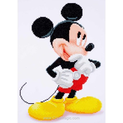 Broderie diamant disney mickey mouse de Vervaco