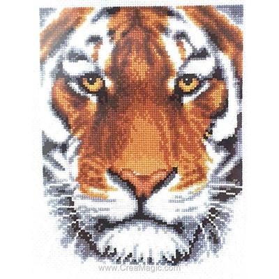 Le tigre point de croix compté - Vervaco
