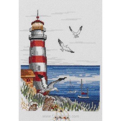 Point de croix Permin lighthouse - phare
