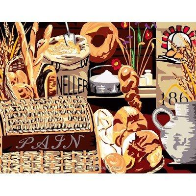 Les pains canevas chez Luc Création