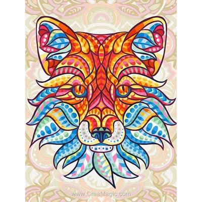 Kit broderie diamant Diamond Painting fox