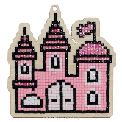 Kit broderie diamant château de princesse de Wizardi