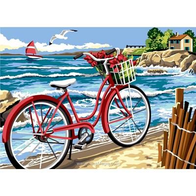 SEG canevas la bicyclette de la mer
