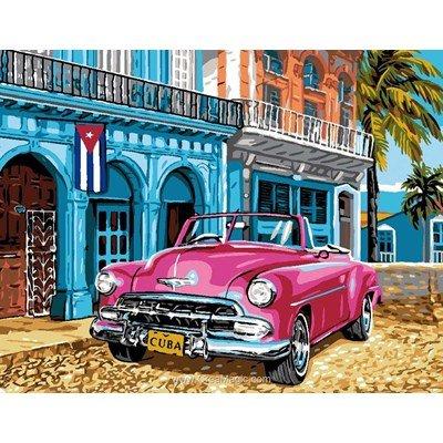 Rafael Angelot canevas couleurs de cuba