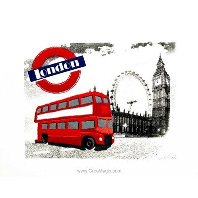 Kit de broderie traditionnelle london uk de Duftin