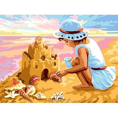 Mon château de sable canevas de Collection d'art