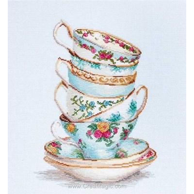 Kit tasses de thé empilées - Luca-S