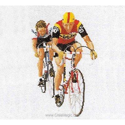 Cycling sur lin point de croix compté - Thea Gouverneur