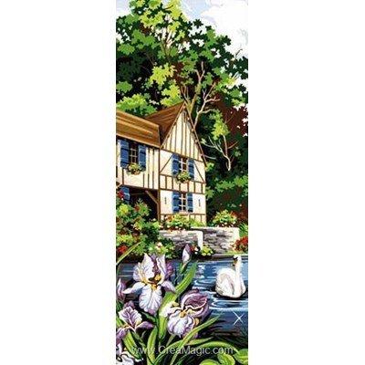 SEG canevas maison dans la nature