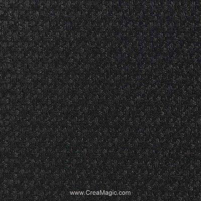 Toile aida 7.1 pts noir - Brod'star à broder