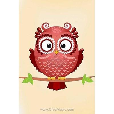 Kit broderie diamant Wizardi owl phil