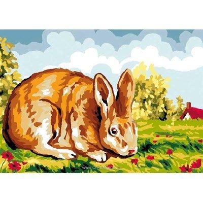 Canevas mister lapin - Luc Création