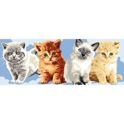 Canevas les chatons - Luc Création