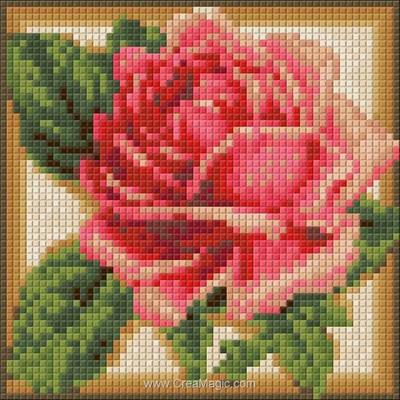 Kit broderie diamant Diamond Painting rose