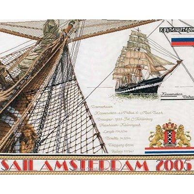 Kit broderie de Thea Gouverneur au point de croix sail 2005 sur aida
