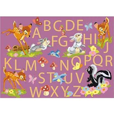 DMC canevas abécédaire de bambi et tous ses amis
