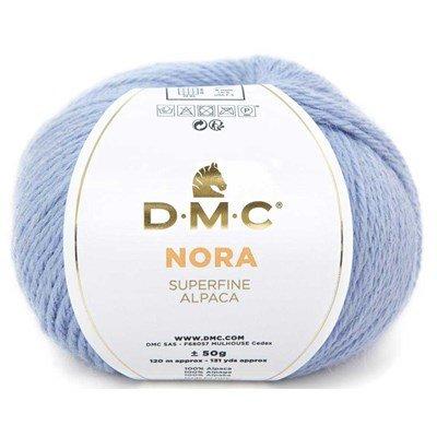 Laine à tricot dmc nora - fil à tricoter 100% d'alpaga