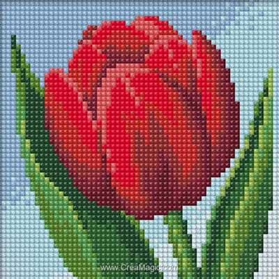 Broderie diamant Diamond Painting tulip