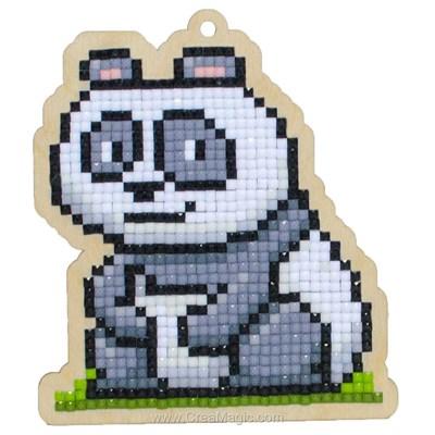 Broderie diamant panda chuckie - Wizardi