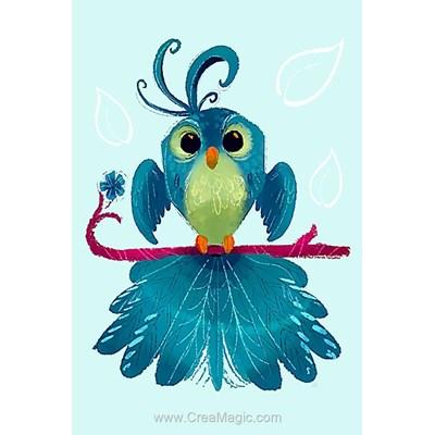 Broderie diamant Wizardi bird of luck