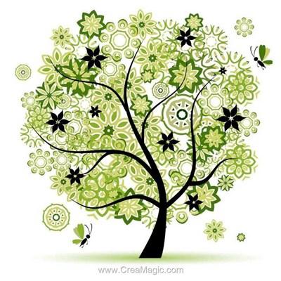 Broderie diamant Diamond Painting l'arbre aux miracles