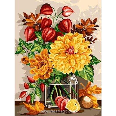 Bouquet d'automne canevas de SEG