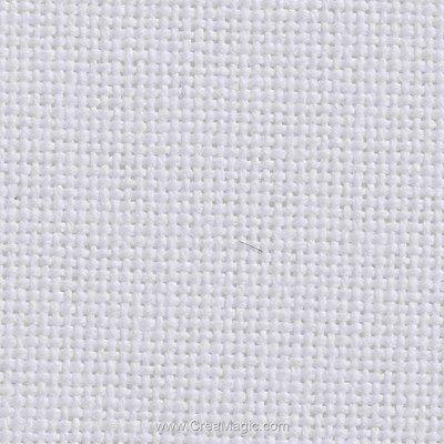 Toile etamine 11 fils blanc - monaco vierge à broder - Charles Craft