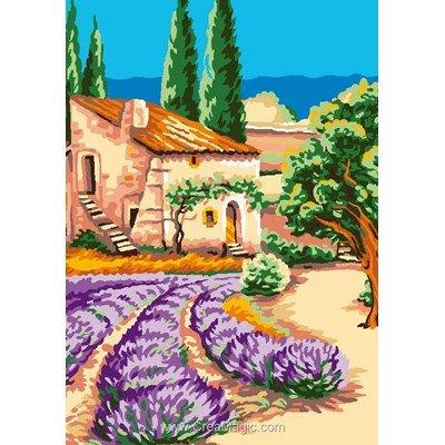 Luc Création canevas souvenir de provence