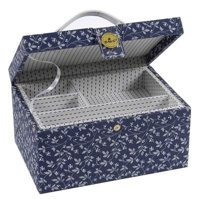 Boîte à couture en tissu marina box smart de DMC