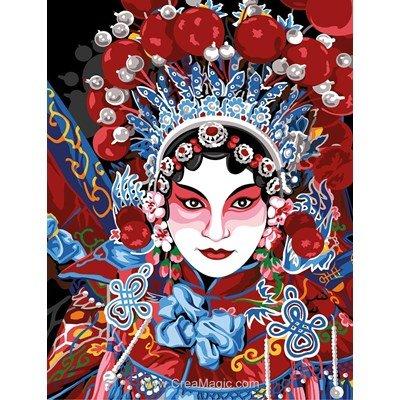 SEG canevas opéra chinois