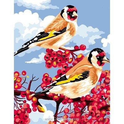 Canevas rêve d'oiseaux de Luc Création