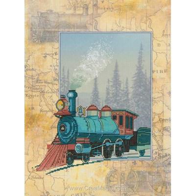 La broderie la locomotive - RIOLIS