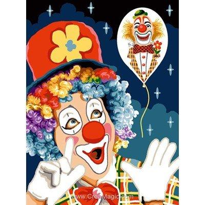 Clown canevas - Mimo Verde