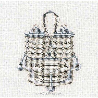 Kit à broder Thea Gouverneur salière et poivrier sur lin