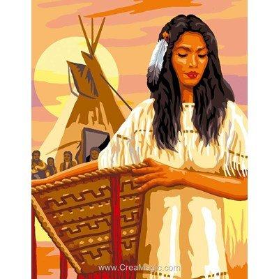 La squaw canevas chez Luc Création