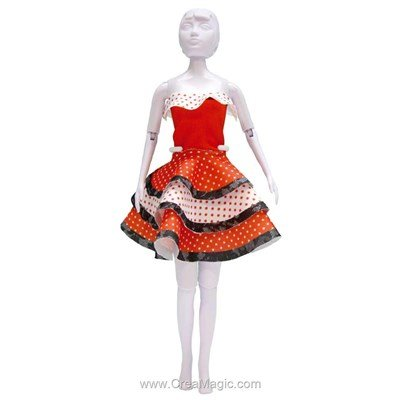 Set couture maggy flamenco DRESS YOUR DOLL