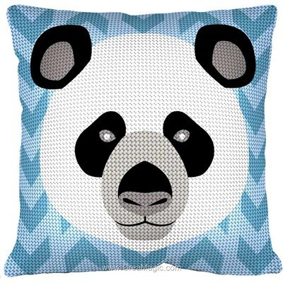Kit coussin Margot panda zen au demi point
